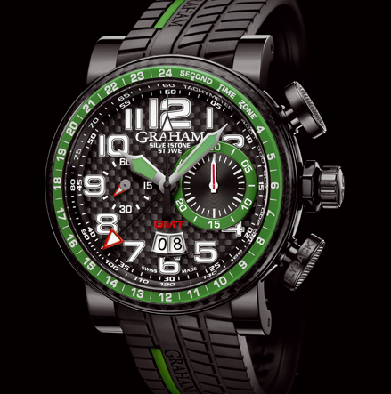 часы Graham Silverstone Stowe GMT Green