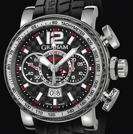 часы Graham SILVERSTONE LUFFIELD GMT STEEL