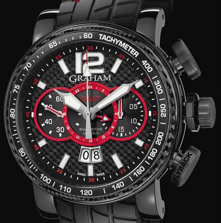 часы Graham SILVERSTONE LUFFIELD GMT RED