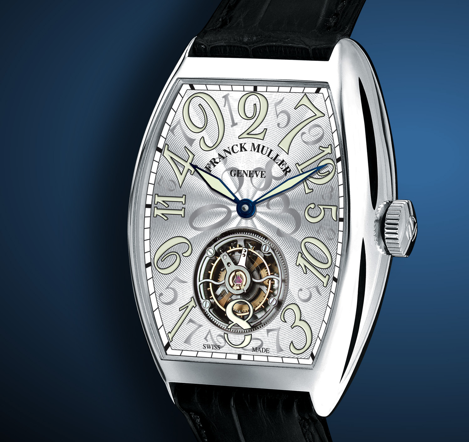 часы Franck Muller Crazy Hours Tourbillon
