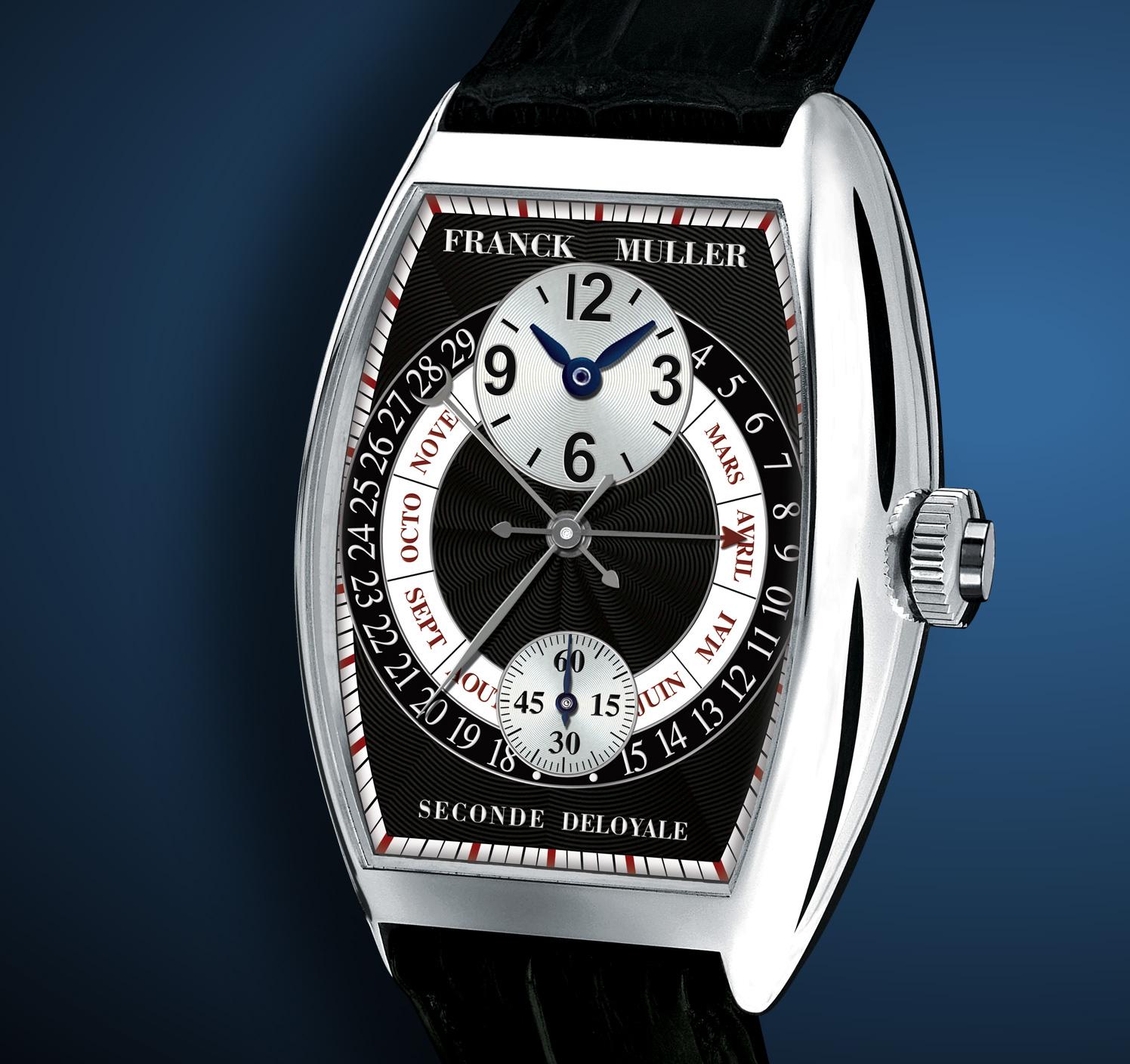 часы Franck Muller Seconde Déloyale