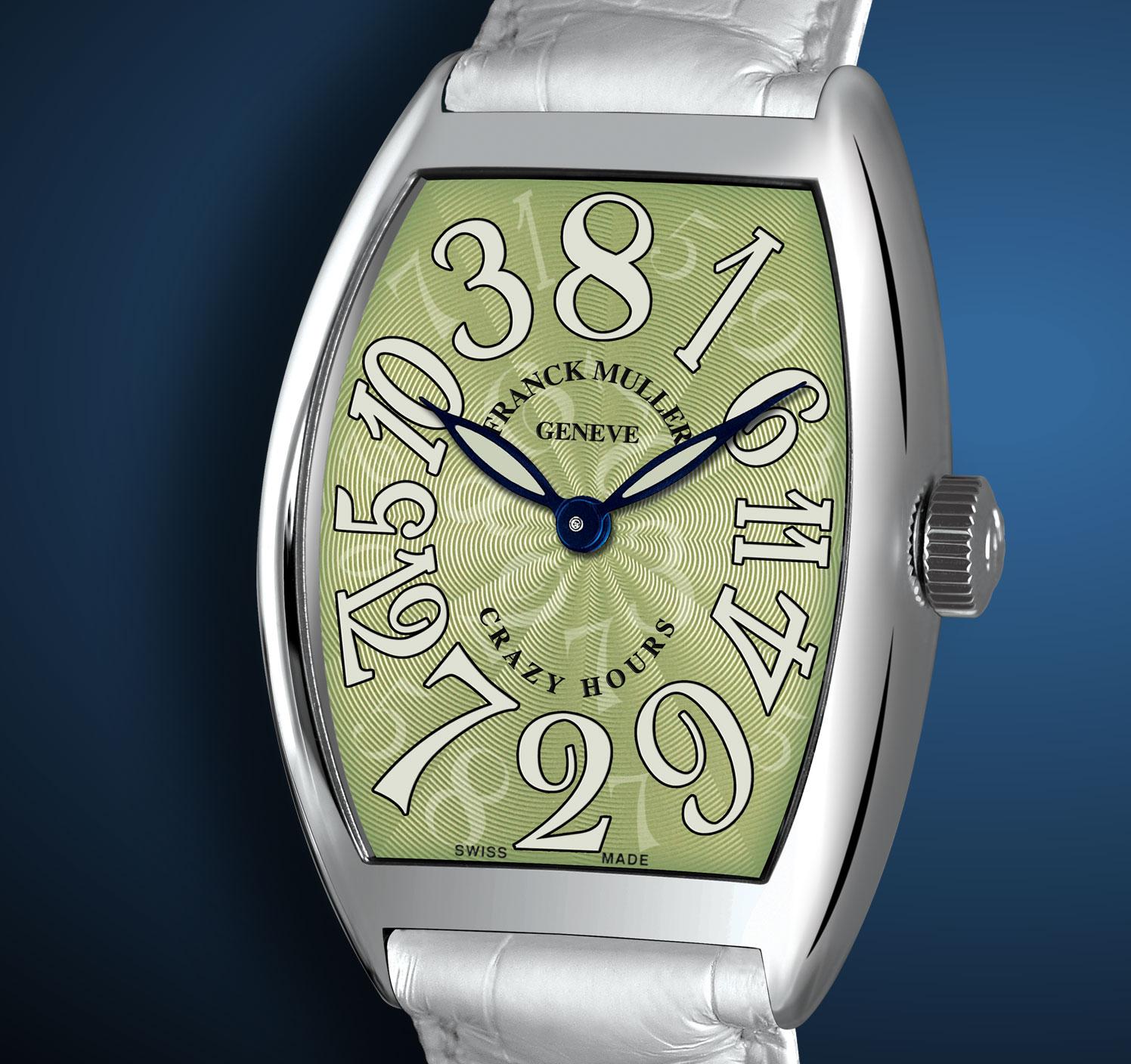 ���� Franck Muller Crazy Hours Green Dial