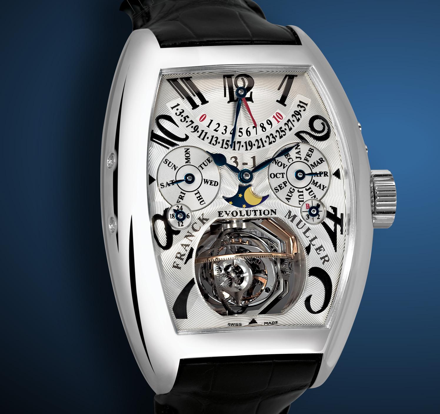 часы Franck Muller Evolution 3-1