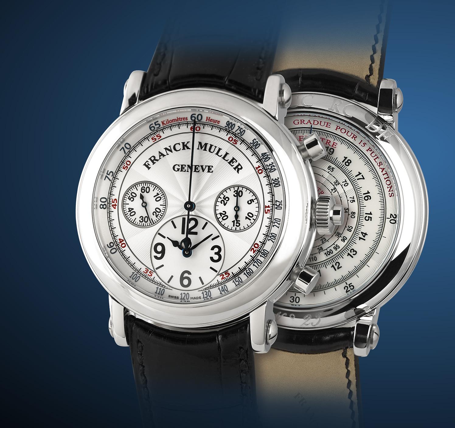 часы Franck Muller Split-Seconds Chronograph Double Face