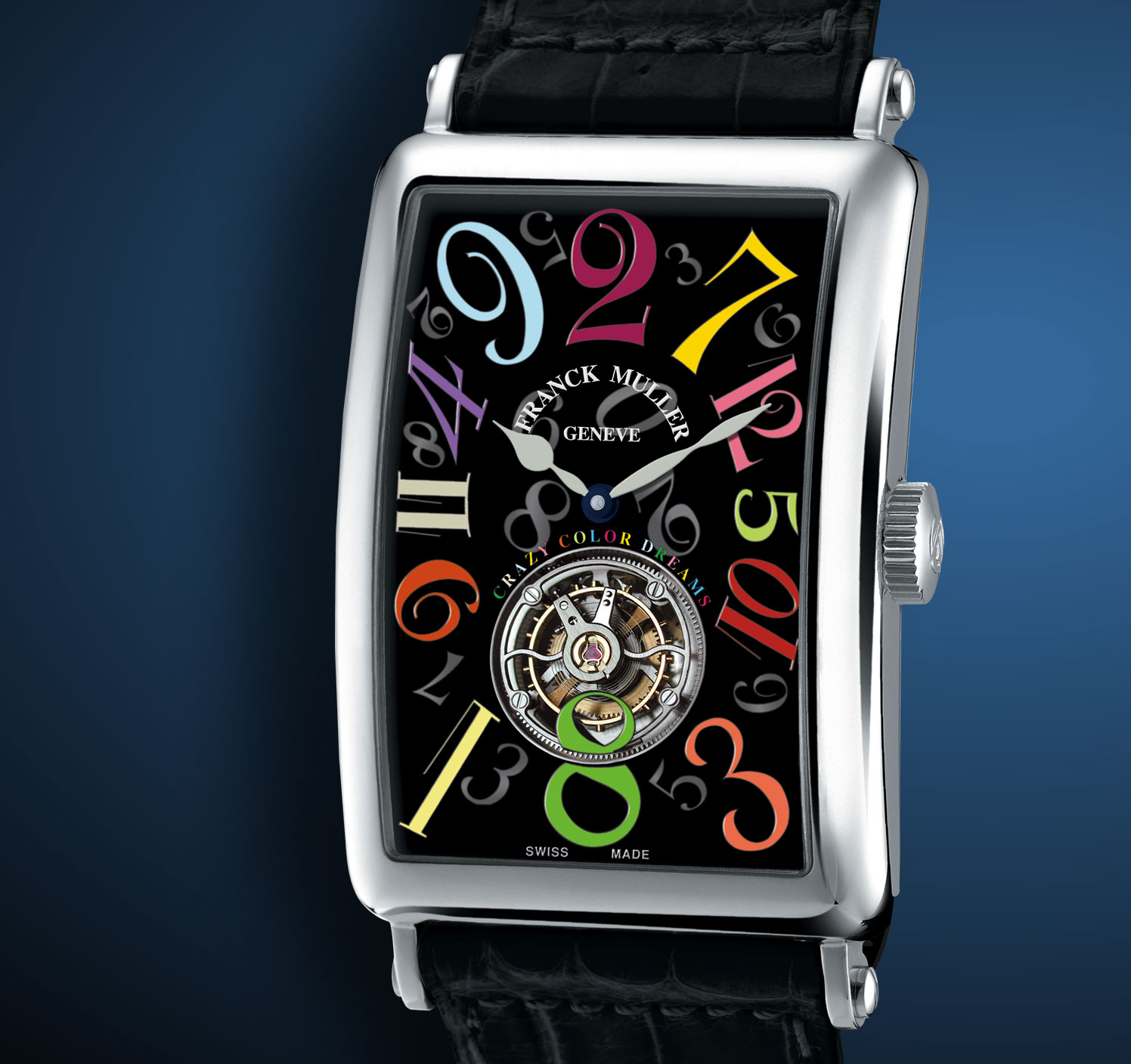 часы Franck Muller Crazy Hours Color Dreams