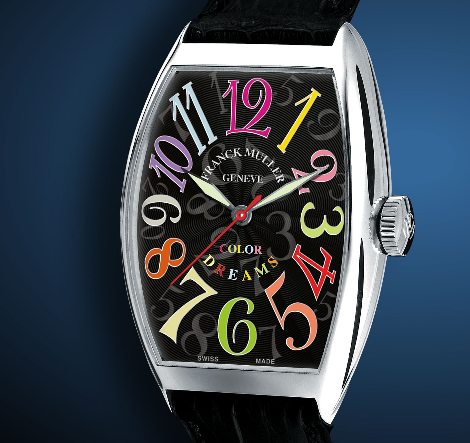 часы Franck Muller Cintrée Curvex Color Dreams