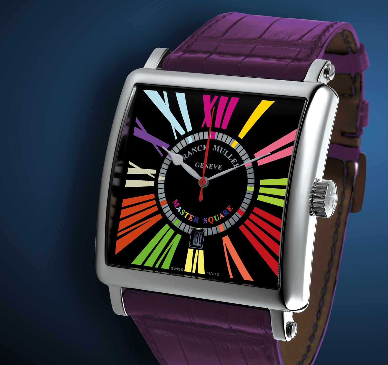часы Franck Muller Master Square Color Dreams Date