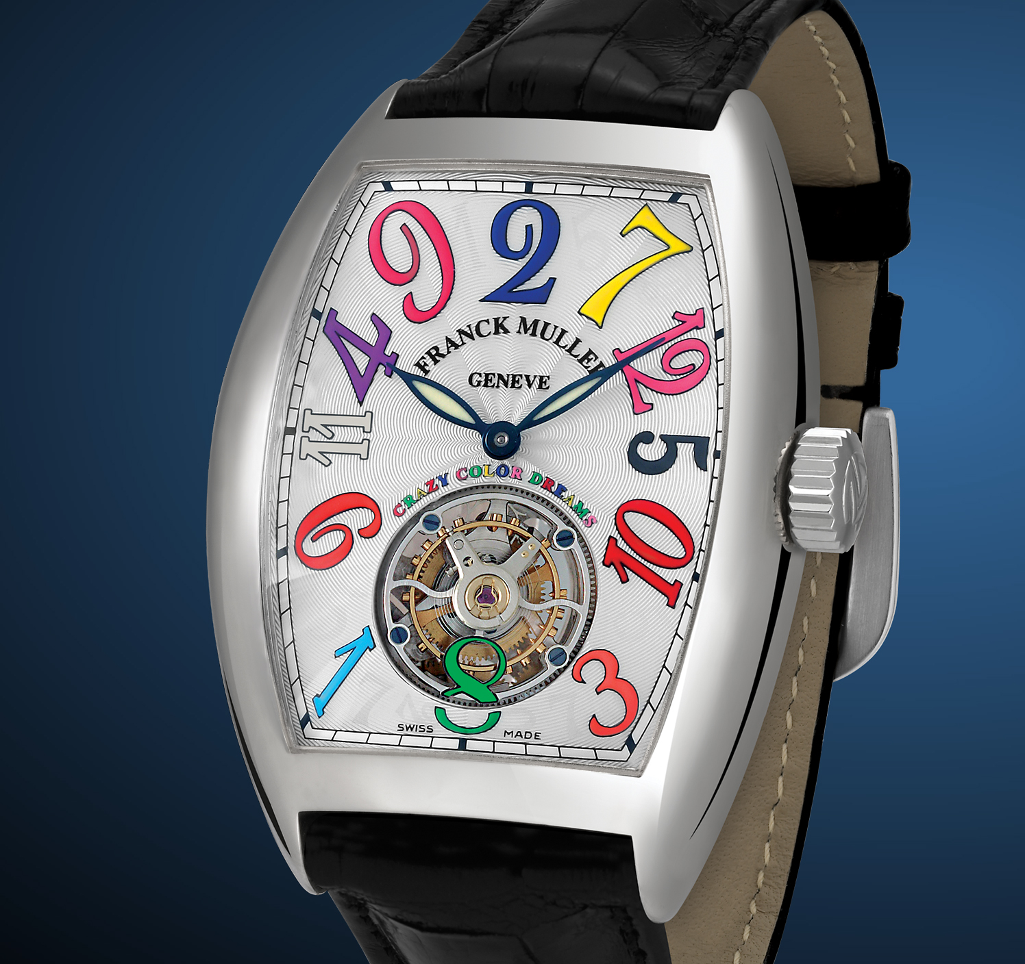 часы Franck Muller Tourbillon Crazy Hours Color Dreams