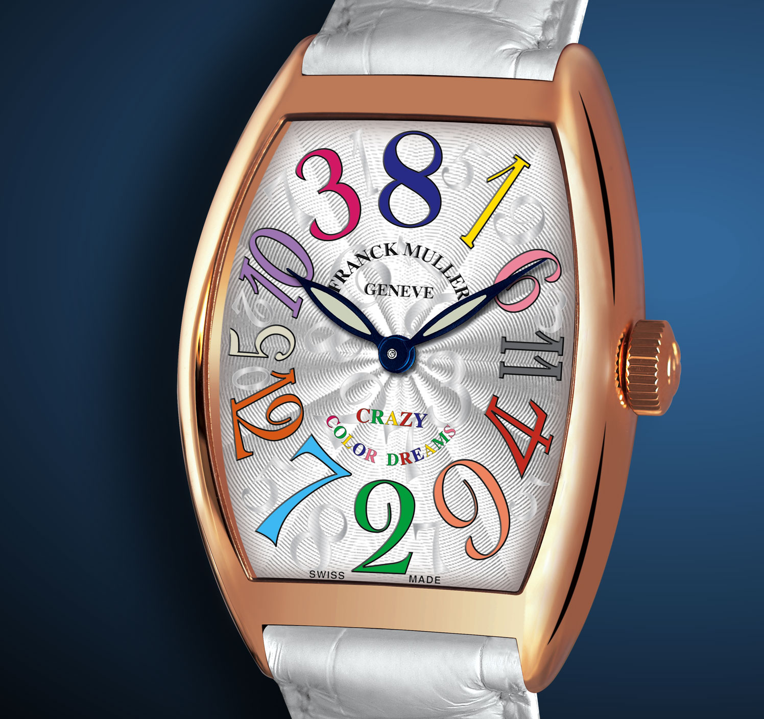 часы Franck Muller Crazy Hours Color Dreams 18K Rose Gold