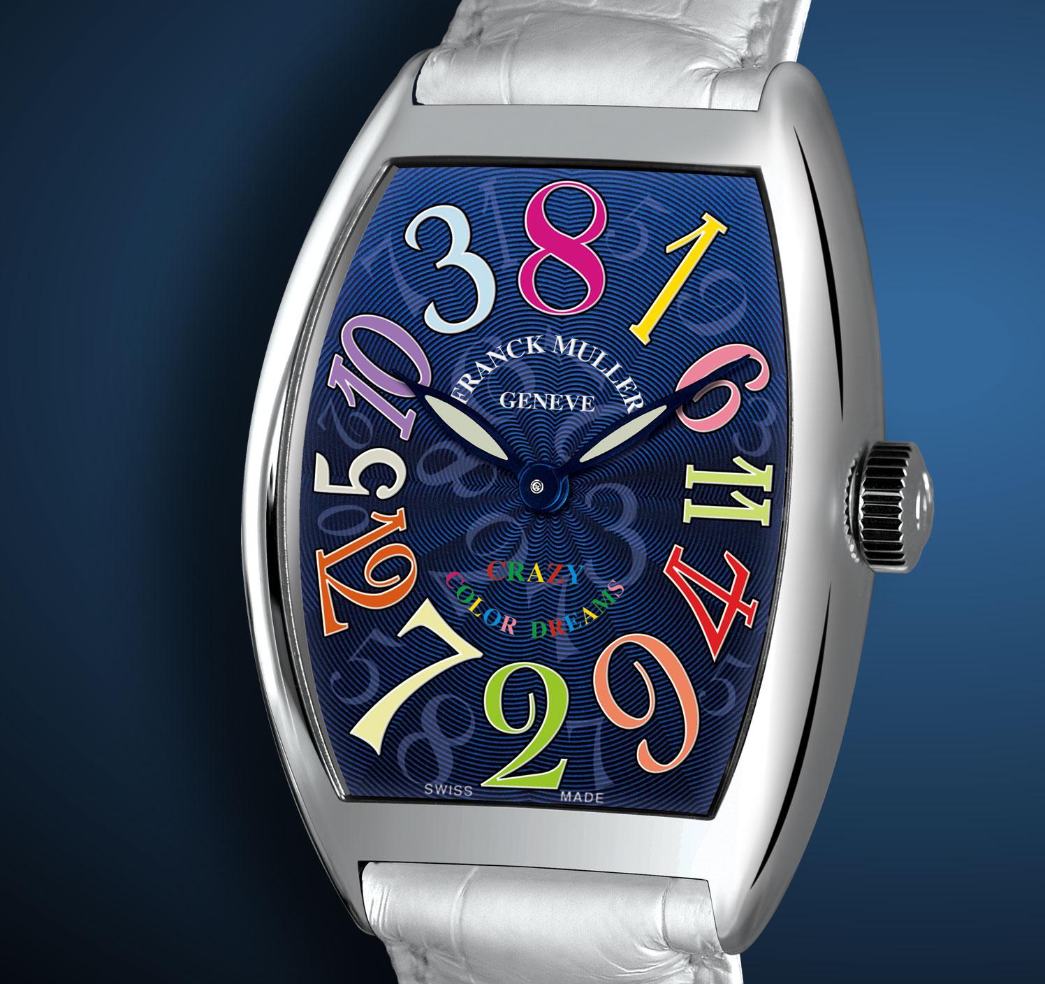 часы Franck Muller Crazy Hours Color Dreams