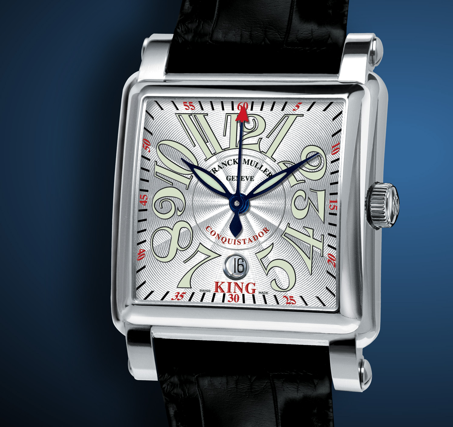 часы Franck Muller King Conquistador Cortez Center Second