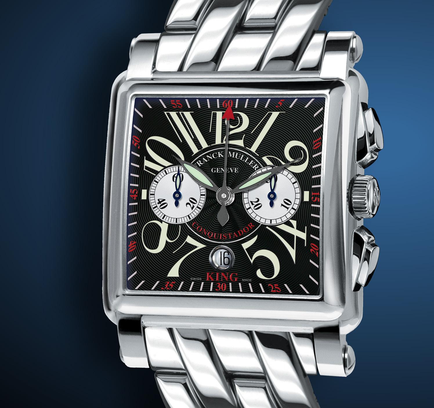 часы Franck Muller King Conquistador Cortez Chronograph