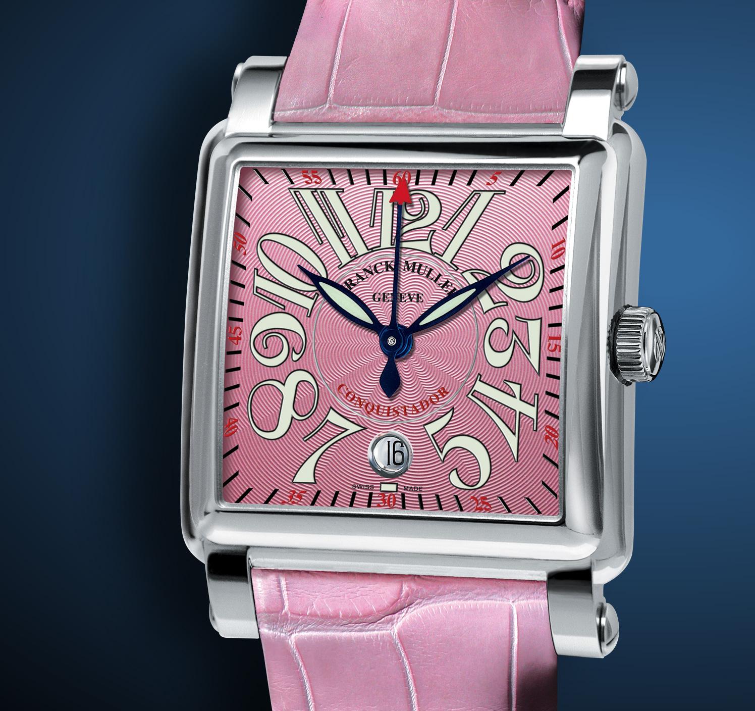 часы Franck Muller Ladies Conquistador Cortez Center Second