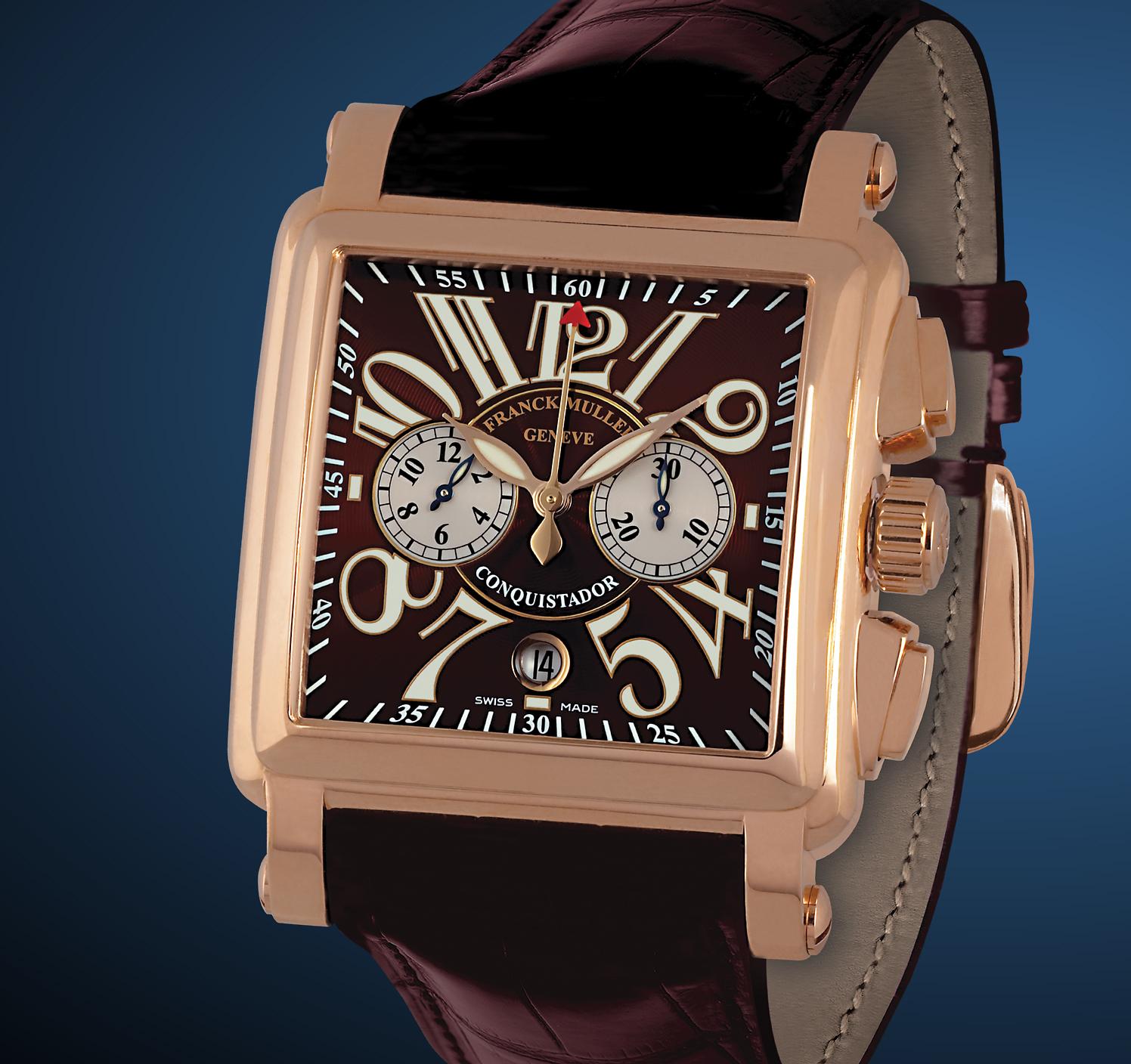 часы Franck Muller Conquistador Cortez Chronograph
