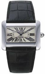 часы Cartier Cartier Tank Divan Steel Automatic