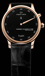 часы Jaquet-Droz The Twelve Cities Black Enamel