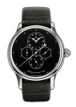���� Jaquet-Droz Chrono Monopusher Black Enamel