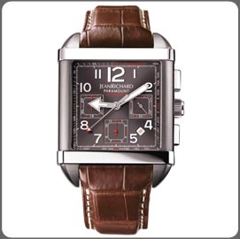часы JEANRICHARD Square Chronograph