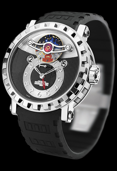 часы DeWitt Triple Complication - GMT3
