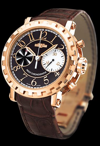 часы DeWitt Chronographe Séquentiel