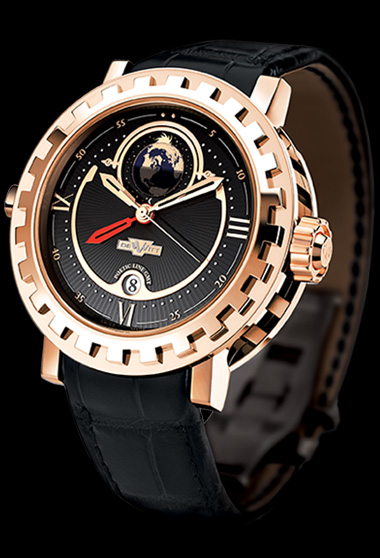 часы DeWitt Double Fuseau - GMT2 Poetic