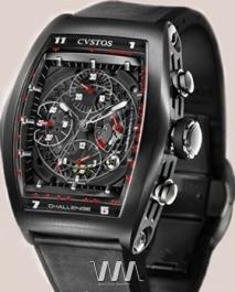 часы Cvstos Cvstos Challenge Chrono Black Steel