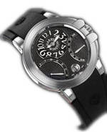 часы Harry Winston Ocean Biretro (WG / Black Rubber)