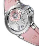 ���� Harry Winston Ocean Biretro (WG / Pink Rubber)