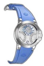 часы Harry Winston Ocean Biretro (WG / Blue Rubber)