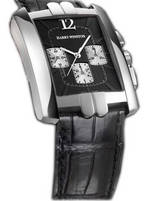 часы Harry Winston Avenue C Chrono (WG / Black / Leather)
