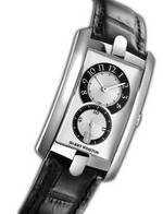 часы Harry Winston Avenue C Midsize (WG / Black Leather)