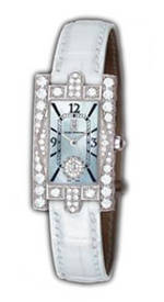 ���� Harry Winston Avenue Lady (WG_Diamonds / MOP / White Strap)