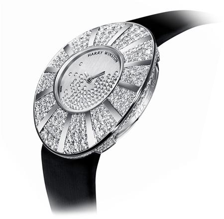 часы Harry Winston Talk to Me, Harry Winston™ Snowflake dial