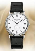 """часы Patek Philippe New 2009 Men's Calatrava """"Clous de Paris"""""""