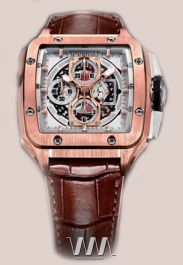 часы Cvstos Evosquare-50 Chrono Red Gold