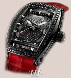 часы Cvstos Re-Bellion black diamond