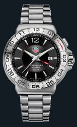часы TAG Heuer Formula 1 Alarm (SS / Black / SS)
