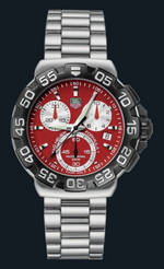 ���� TAG Heuer Formula 1 Chronograph (SS / Red / SS)