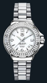 часы TAG Heuer Formula 1 Glamour Diamonds (SS-Diamonds / White / SS)