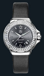 часы TAG Heuer Formula 1 Glamour Diamonds (SS-Diamonds / Grey / Strap)
