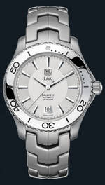 ���� TAG Heuer Link Automatic Turning Bezel (SS / Silver / SS)