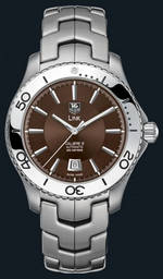 часы TAG Heuer Link Automatic Turning Bezel (SS / Brown / SS)