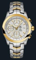 часы TAG Heuer Link Automatic Chronograph (SS-YG / Silver / SS-YG)