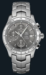 ���� TAG Heuer Link Automatic Chronograph (SS / Grey / SS)