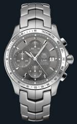 часы TAG Heuer Link Automatic Chronograph (SS / Grey / SS)
