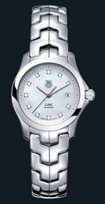 часы TAG Heuer Link Ladies Fixed Bezel (SS / MOP-Diamonds / SS)