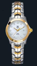 часы TAG Heuer Link Ladies (SS-YG / MOP-Diamonds / SS-YG)