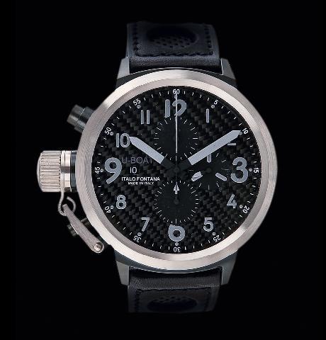 часы U-Boat Flightdeck Steel Bazel