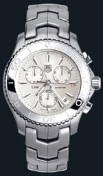 часы TAG Heuer Link Quartz Chronograph (SS / Silver / SS)