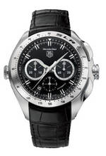часы TAG Heuer TAG Heuer SLR (Black / Leather)